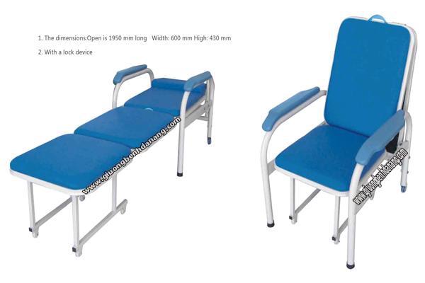 Ghế nằm ngồi cho người bệnh GG02