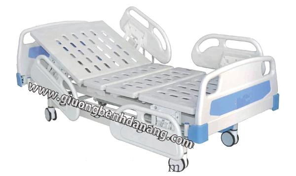 Giường bệnh 2 chức năng điều khiển bằng cơ tay
