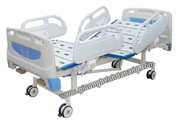 Giường bệnh 2 chức năng điều khiển cơ tay S-05