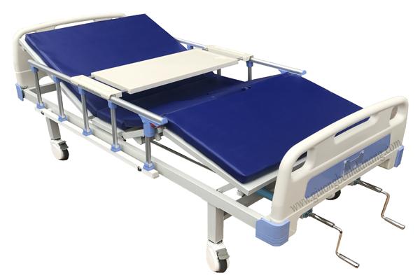Giường bệnh 2 tay quay di động mã MKC-GB14 ( Hàng đặt dự án)