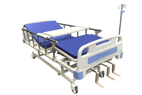 Giường bệnh 3 tay quay di động mã MKC-GB15